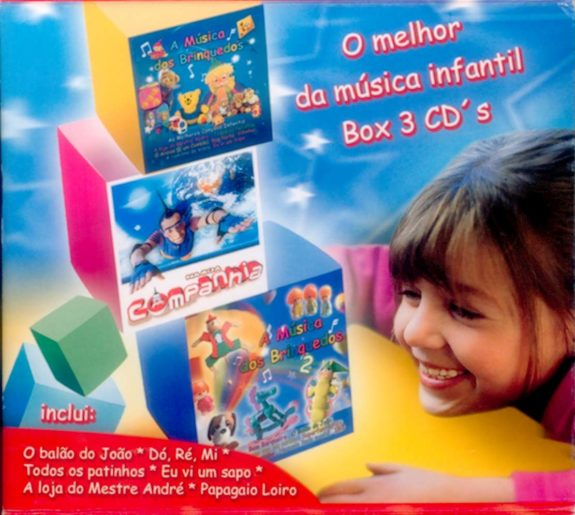 O Melhor da Música Infantil 3 CDs