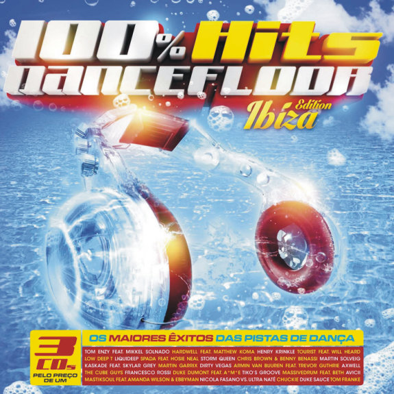 100 hits dancefloor ibiza edition loja da musica for 100 hits dance floor