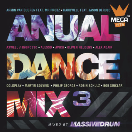 capa anual dance mix